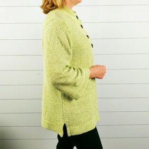 Soft Surroundings Pullover Pistachio green